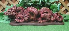 Oriental Asian Dragon Lion Foo Dog  Latex Fiberglass Production Mold Concrete