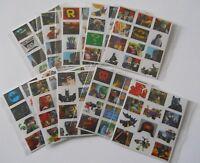 10 Packs of Lego Batman Movie Mini Stickers - Mini Figure Kids Party Bag Fillers