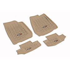 Fußmatten Fußschalen braun Set 4-teilig Jeep Wrangler JK 07-18 2-Türer 13987.02
