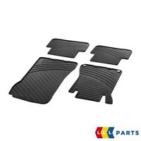 NEW GENUINE MERCEDES BENZ C CLASS W203 ALL WEATHER RUBBER FLOOR MAT SET LHD