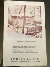Vintage Rondesics Buildings, Asheville Nc Rondette Mountain Cottages-Homes