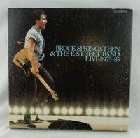 BRUCE SPRINGSTEEN & THE E STREET BAND LIVE 1975-1985 New Sealed Cassette NIB