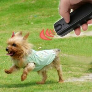 Ultrasonic Anti-Bark Aggressive Dog Repeller Barking Stop Deterrent Training NYP