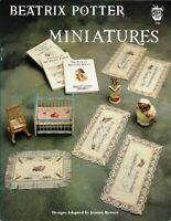 Beatrix Potter Miniatures for Cross Stitch Green Apple 598 1991 Dollhouse Decor