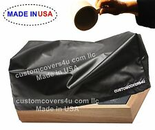 Custom Black Dust Cover For Sansui G5700 G-5700 Water Repellent + Embroidery !