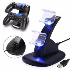 Playstation 4 PS4 Controller Dual USB Docking Station Charging Charge Stand LED
