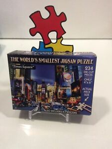 Worlds Smallest puzzle - Times Square