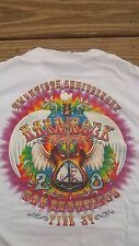 Hard Rock Cafe San Francisco 20 Yr Anniv Shirt Med Grateful Dead Jimi Hendrix