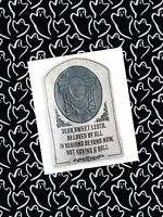 Disney Parks The Haunted Mansion Madame Leota Tombstone Throw Pillow NEW