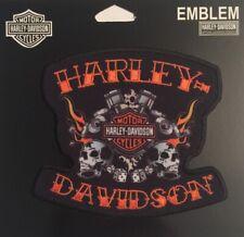 HARLEY DAVIDSON HAPPY DAYS SKULLS  PATCH