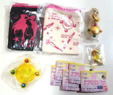 Sailor Moon - Crystal Capsule Goods Gashapon FULL Complete SET of 5 Pouch Case