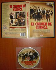 El crimen de Cuenca [DVD] Pilar Miró, Amparo Soler Leal, Héctor Alteiro
