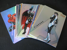2012 MARVEL GREATEST HEROES I AM AN AVENGER COMPLETE INSERT CHASE CARD SET