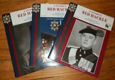 CANADA'S RED HACKLE 3 ISSUES 2011-12 Black Watch Royal Highland Regiment