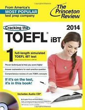 Cracking the TOEFL iBT with Audio CD, 2014 Edition (College Test Prepa-ExLibrary