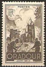 """FRANCE TIMBRE STAMP N°742 """"DESTRUCTION D'ORADOUR-SUR-GLANE"""" NEUF XX TTB"""