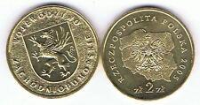 Wojewodztwo Zachodnio - Pomorskie 2005,  2 Zl Muenze Nordic Gold Bfr,