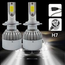 Coppia 6000K H7 LED Lampade Fari Lampadine Headlight Bulbs Bianca Canbus
