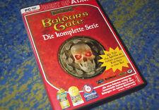 Baldur's Baldurs Gate kpl. Serie inkl 1 & 2 & Schwertküste & Bhaal DEUTSCH KULT