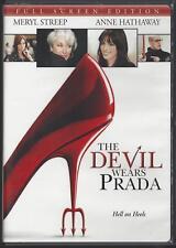 The Devil Wears Prada (DVD, 2006) Meryl Streep, Anne Hathaway