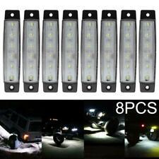 8X White LED Rock Light For JEEP Off Road Truck UTV 4X4 Fender Underbody Lights