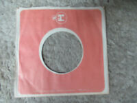 sleeve only REPRISE warner  ORANGE WHITE    45 record company sleeve only 45