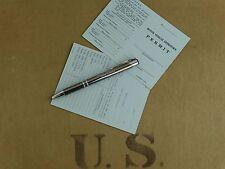 US ARMY Driver License Führerschein Vehicle Operator permit Car Truck WW2 WK2