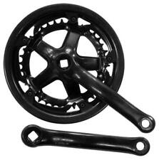 ETC Steel Double MTB Mountain Bike / Cycle Chainset 48/40t X 170mm Black