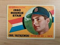 1960 Carl Yastrzemski Topps Rookie All-Star Baseball Card #148 (Original)