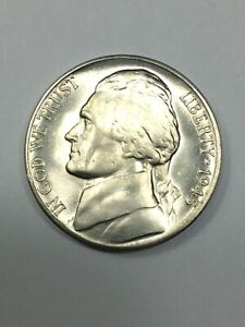 1945-D  Jefferson Wartime Silver Nickel #19443 - Uncirculated