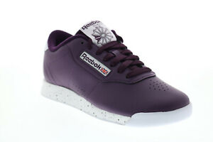 Reebok Princess V68610 Womens Purple Synthetic Lifestyle Sneakers Shoes 7