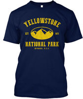 Machine washable Yellowstone National Park - Est 1872 Hanes Tagless Tee T-Shirt