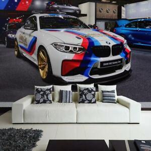 Fototapete Vlies und Papier Tapete Auto Sportwagen Car Karre Motorspor BMW M2