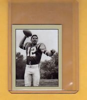 Joe Namath, rookie season '65 New York Jets, rare Lone Star limited edition