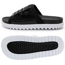 Nike Men's Asuna Slides Sandals Slipper Black/White CI8800-002