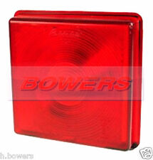 RUBBOLITE 5428 STOP/TAIL LIGHT LAMP RED REAR LENS IFOR WILLIAMS TRAILER P06770/T