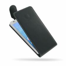 PDair Deluxe Leather Flip Top Case Cover for Huawei Honor 6 4G LTE - Black