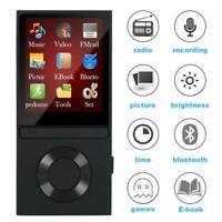 8GB Bluetooth MP4 MP3 Players Music Media Clip Player USB Portable 128GB Mini SD