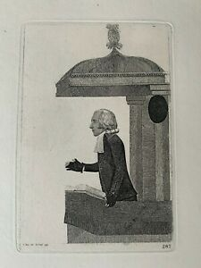 Set of 6 x Antiquarian 18th Century JOHN KAY Etchings - in good condition