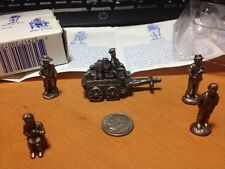 Liberty Falls 5 Pewter Americana Collection Ross,Wilson,Tully's Wagon,etc.