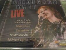 Hildegard Knef Live cd Laserlight SEALED