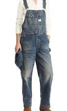 RRL Ralph Lauren 1940s Inspired Japanese Washed Denim Overall -WOMEN- Size 2
