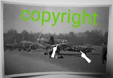 Orig. Photo Avion saison Me 109 CHASSE Feindflug saison Armoiries jg51