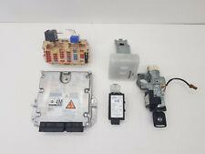 2006 NISSAN XTRAIL T30 2.2 DIESEL ENGINE ECU IGNITION BARREL LOCK SET 23710EQ465