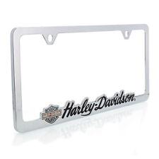 Harley-Davidson Contoured Wordmark License Plate Frame Holder
