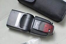 Canon Speedlite 580EX II Shoe Mount Flash +Original Pouch and Stand