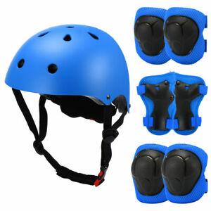 7In1 KIDS BOYS GIRLS CHILDS Helmet & Knee & Elbow Pad Cycling Skate Safety Set V