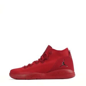 Jordan Reveal Men's Casual Basketbal Lace Up Trainers Shoes, Red/Black