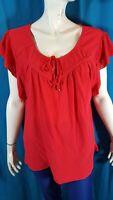 VALEUR 25 € MODAVISTA Taille 50/52  NEUF Tee shirt manches courtes rouge femme