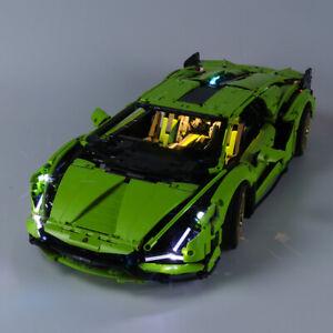 USB Light Kit For 42115 LEGOs Technic Lamborghini Sián (sian) FKP 37 Set